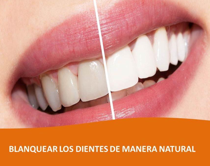 Como blanquear los dientes de manera natural