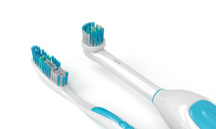 cepillo de dientes eléctrico vs cepillo de dientes manual